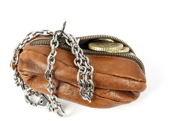 The opened purse