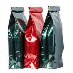 Three paper bags