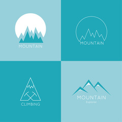 Mountains in box.