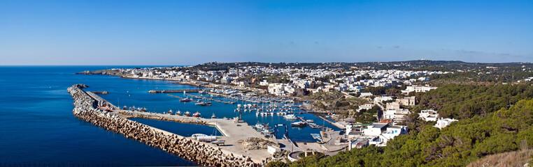 porto di S. Maria di Leuca, panoramic view