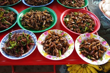 Plat traditionnel au Laos
