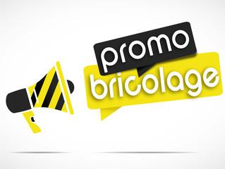 mégaphone : promo bricolage
