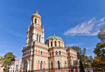 Orthodox Alexander Nevsky Cathedral (1884) in Lodz, Poland