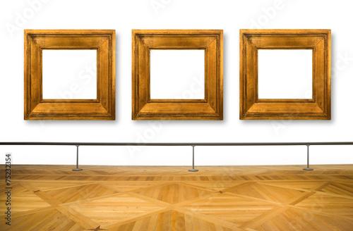 Leinwandbild Motiv quadri al museo