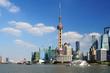 View of Shanghai World Financial Center from the Bund
