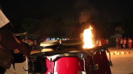 Scout campfire, thailand
