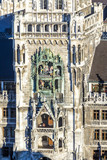 chimes in munich city hall and facade poster