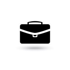 briefcase black icon