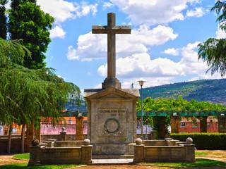 Plasencia, Cruz de los Caídos, franquismo, Guerra Civil