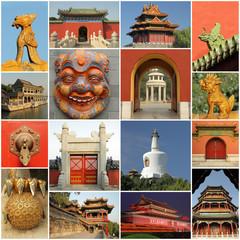 pekingese collage