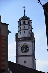 Blaserturm torre di guarda nella città di Ravensburg