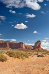 Monument Valley in Utah, United States of America.