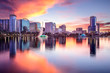 canvas print picture - Orlando, Florida Skyline