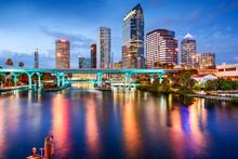 "Постер, картина, фотообои ""Tampa, Florida Skyline"""