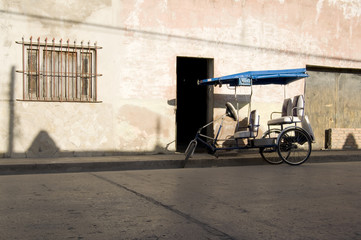 Tricycle used as a Taxi in Holguin Cuba