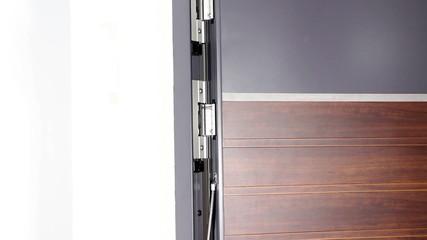 Interior doors with effective design