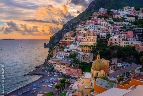 Positano, Amalfi Coast, Italy - 75249551