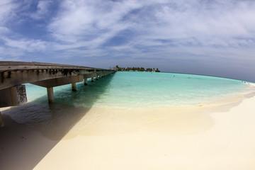 Maldive, il pontile verso il paradiso