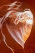 heart shaped Antelope Canyon view