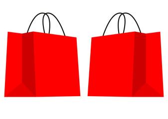 買い物袋のイラスト素材