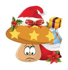 Christmas Cartoon face emotions