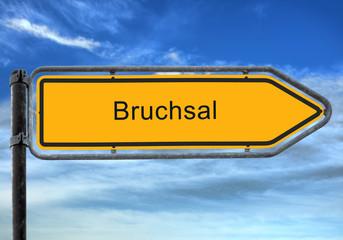 Strassenschild 26 - Bruchsal