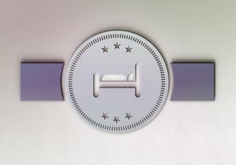 Gästezimmer-Emblem H