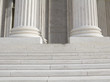 Pillars and Steps, supreme court, Washington DC