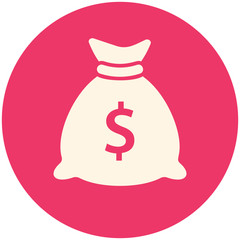Money bag icon