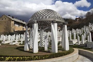 Tomb of Alija Izetbegovic,  Sarajevo