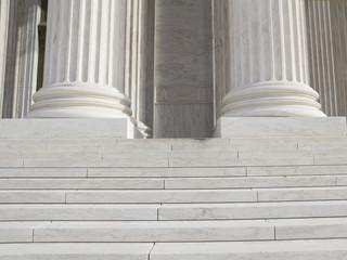 Pillars and Steps, supreme court, Washington DC