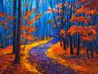 Autumn landscape - 75257553
