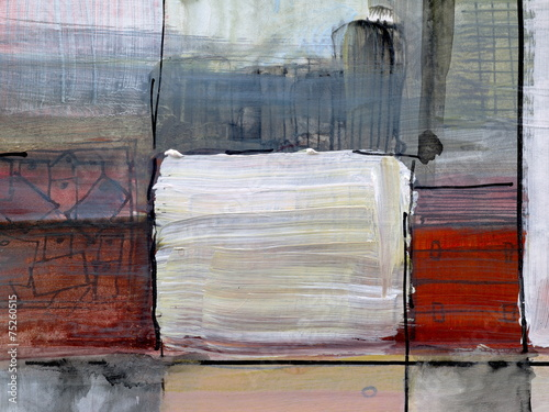 a detail from an abstract painting © clivewa