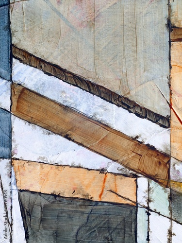 a detail from an abstract watercolor painting Poster
