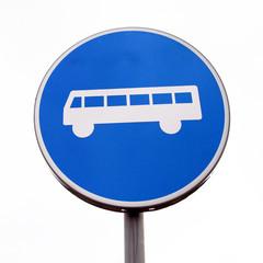 A bus lane