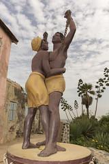 Monumento a la esclavitud. Isla de Goré: Senegal