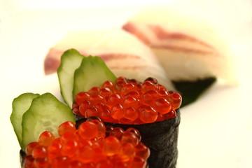 イクラ 鯛 寿司