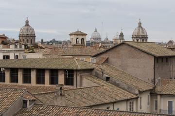 tetti e cupole a Roma