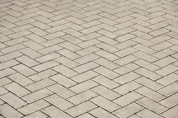Concrete Block Pavement Texture