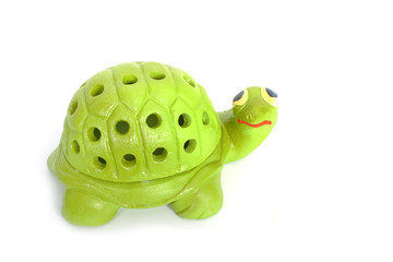 Mosquito repellent , The turtle shape container of mosquito coil
