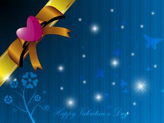 valentine gift box background