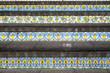 Leinwanddruck Bild - Caltagirone staircase