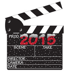 2015 Snow Clapper Board