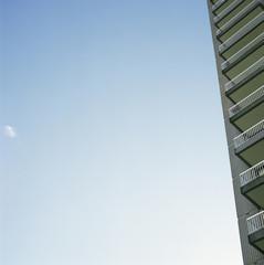 Skyscraper balconies