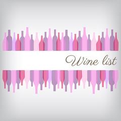 Wine list grigio