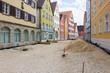 Sanierung einer Strasse im Stadtzentrum