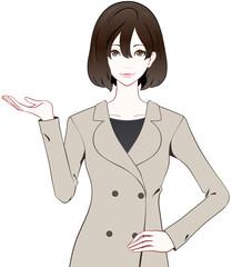 女性 コート 紹介