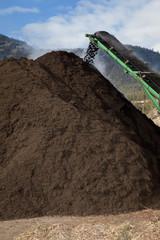 Large Scale Compost Pile