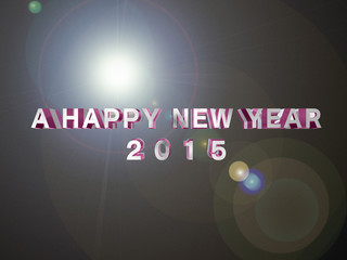 2015年 新春 朝日 新年