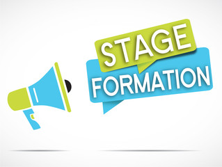 mégaphone : stage formation